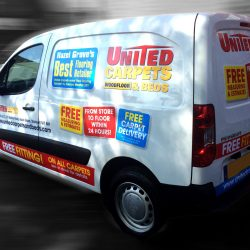 United Carpets Van